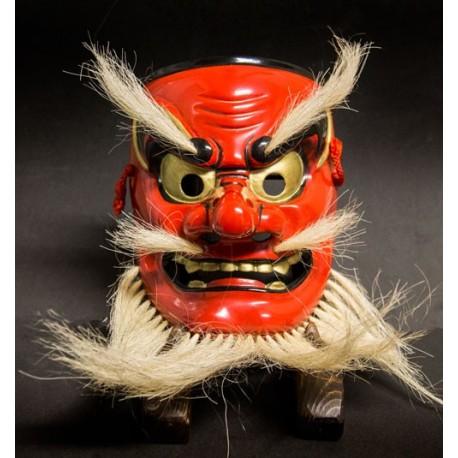 Ko Tengu máscara japonesa de madera