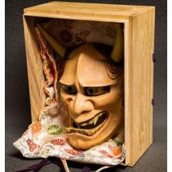 Hannya woodcarving