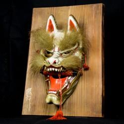 Kitsune Iwami Kagura mask