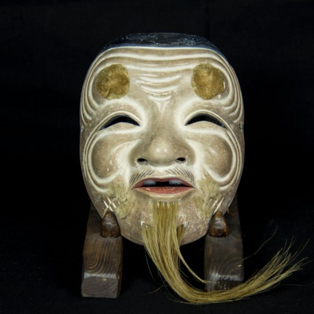 Okina woodcarving