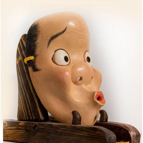 Hyottoko japanese mask