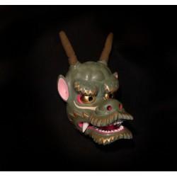 Japanese mask woodcarving Ko tengu