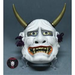Máscara japonesa Hannya blanca